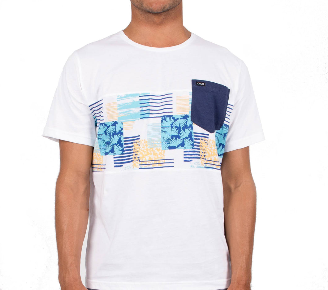 T-shirt Oslo Summer Stripes