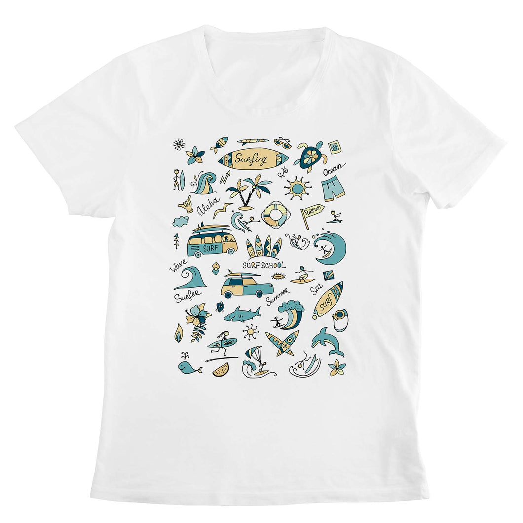 T-shirt Surf School