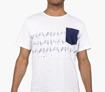 T-shirt Oslo Wired Birds