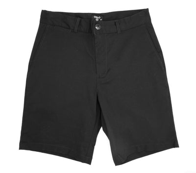 Oslo Chino Walkshorts Black