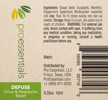 DEFUSE | Essential Oil Blend - Allergy, Sinus, and Headache Relief