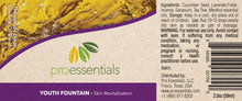 YOUTH FOUNTAIN | Essential Oil Blend - Skin Revitalization