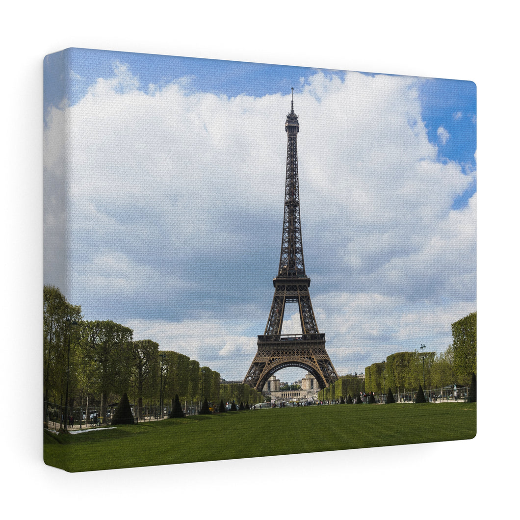Eiffel Tower Canvas Wrap