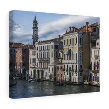 Buildings of Venice Canvas Wrap