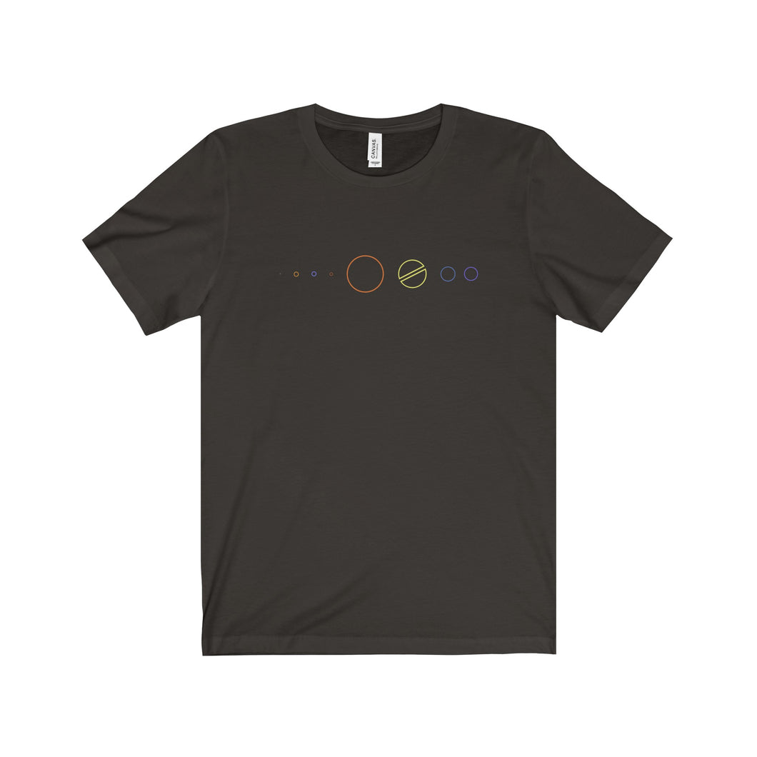 Trek Solar System Men's Short Sleeve Tee