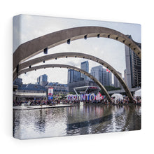 Toronto Nathan Phillips Square Canvas Wrap