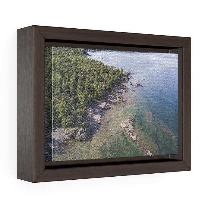 Lake Superior Framed Canvas