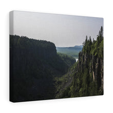 Ouimet Canyon Canvas Wrap
