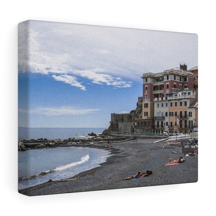 Genoa Beach Canvas Wrap