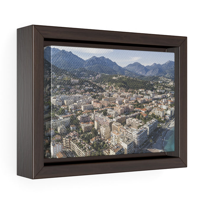 Southern France Framed Canvas Wrap