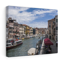 Canals of Venice Canvas Wrap