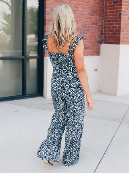 Lovely Catch Jumpsuit