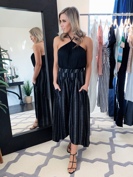 Aura Pocketed Culottes- Best Seller!