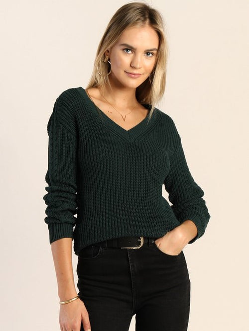 Warm Feelings V-Neck Sweater
