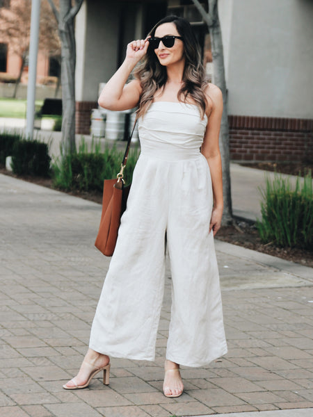 Brielle Wide Leg Jumpsuit