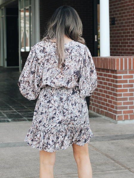 Clarissa Smocked Floral Dress