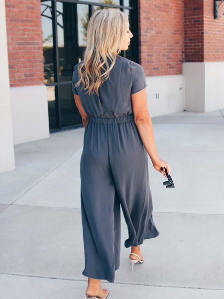 Perfect Way Pocketed Wide Leg Jumpsuit