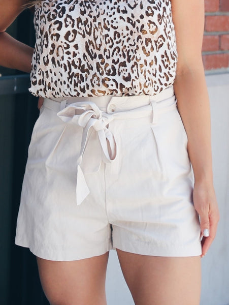 Uniform Pocketed Tie Shorts 1 Left! Large Final Sale