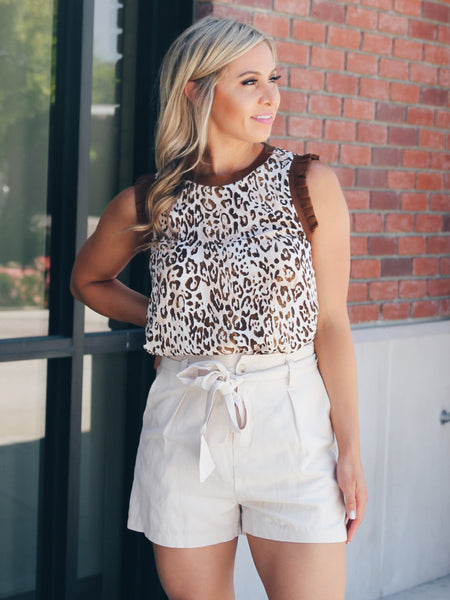 Snakeskin Pocketed Wide Leg Pants- 1 Left!