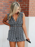 Amora Embroidered Romper- 1 Left! Final Sale