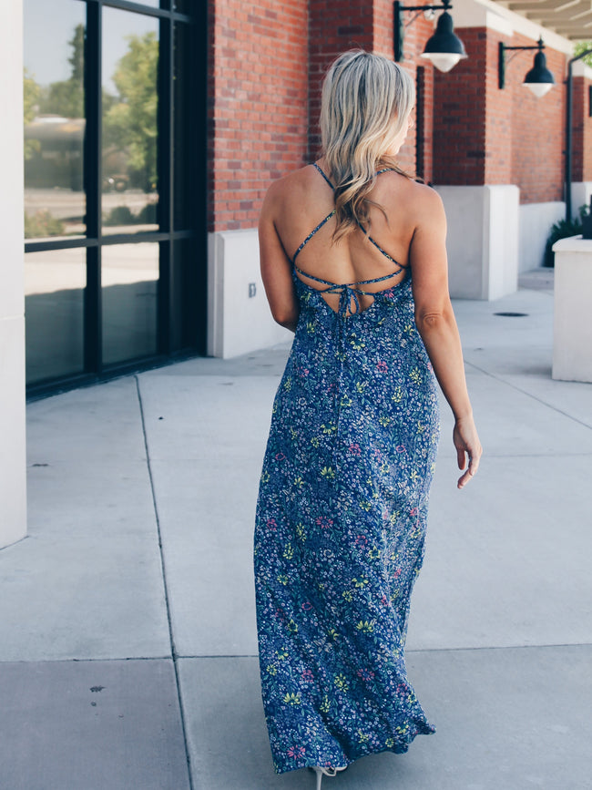 Cayman Floral Maxi Dress 1 Left! Final Sale