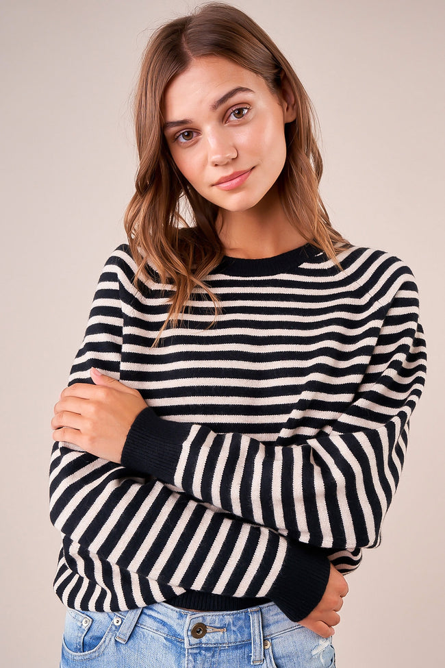 Tinley Striped Oversized Sweater