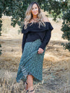 Out And About Pleated Midi Skirt- 1 Left!