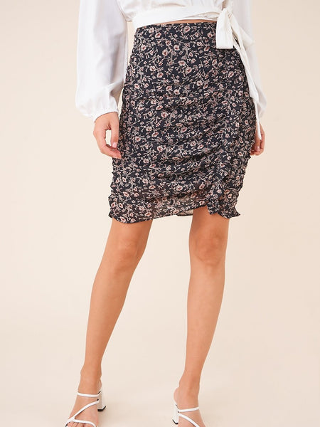 Sweet Symphony Floral Skirt- Final Sale