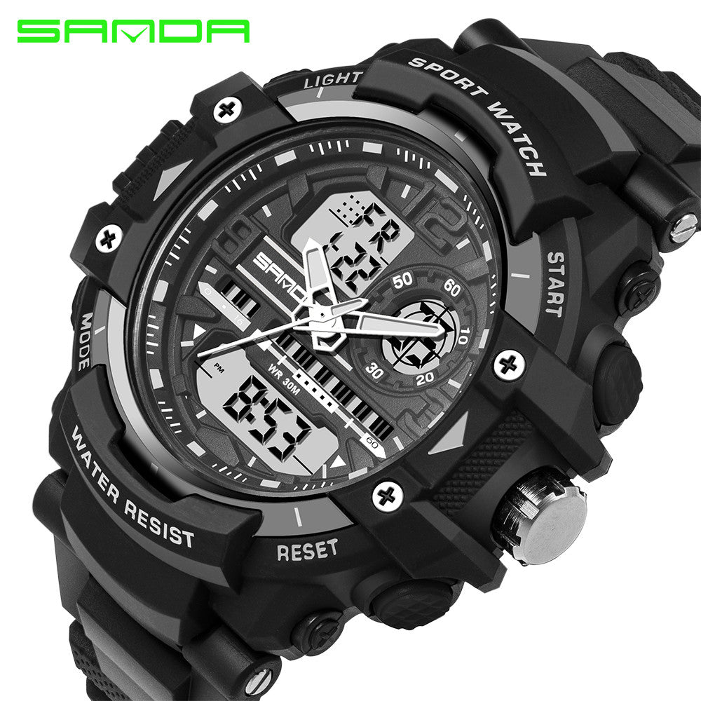 sport item brand fitness outdoor resistant for sanda military watchmens electronic watch waterproof masculino watches from digital sports led in men relogio