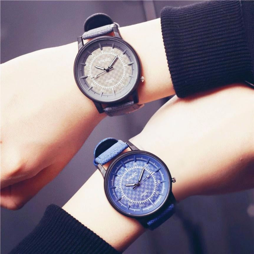 19a307efff ... Female Clock Women Mens Minimalist Fashion Lovers Leather Quartz Wrist  Watch Men Stylish Couple Watches Relogio ...