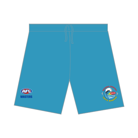 AFL Masters Board Shorts - Sky