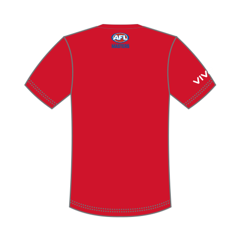AFL Masters Kids T-Shirt - Red