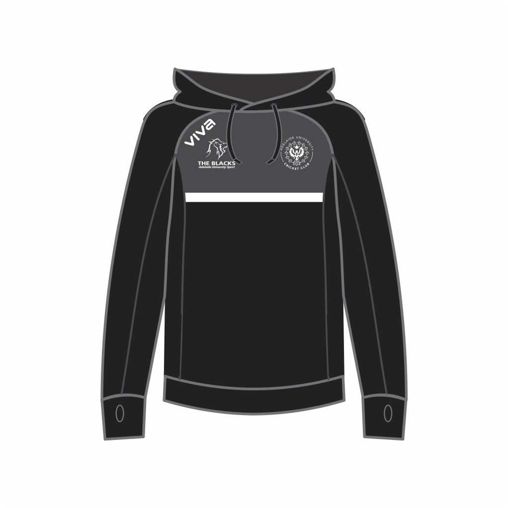 Adelaide University Cricket Club Members Hoodie