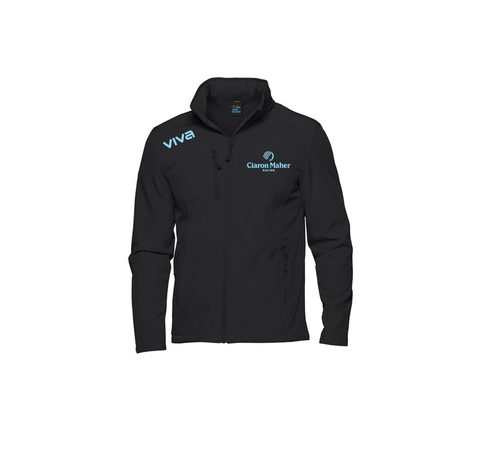 CIARON MAHER RACING - Olympus Softshell Men's Jacket WITH NAME - PLEASE ALLOW 2-3 WEEKS FOR DELIVERY