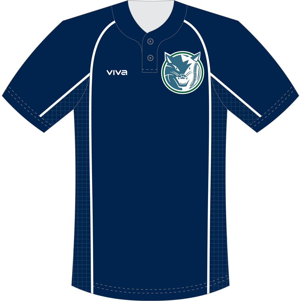 Geelong Baycats Baseball Club - Sublimated Pre Game BP Top