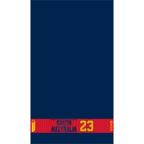 Basketball SA & SA Metro Players Towel With Number