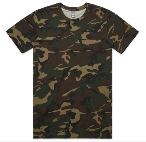 AS COLOUR CAMO T-SHIRT