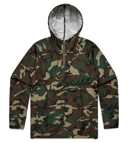 AS COLOUR CAMO WINDBREAKER
