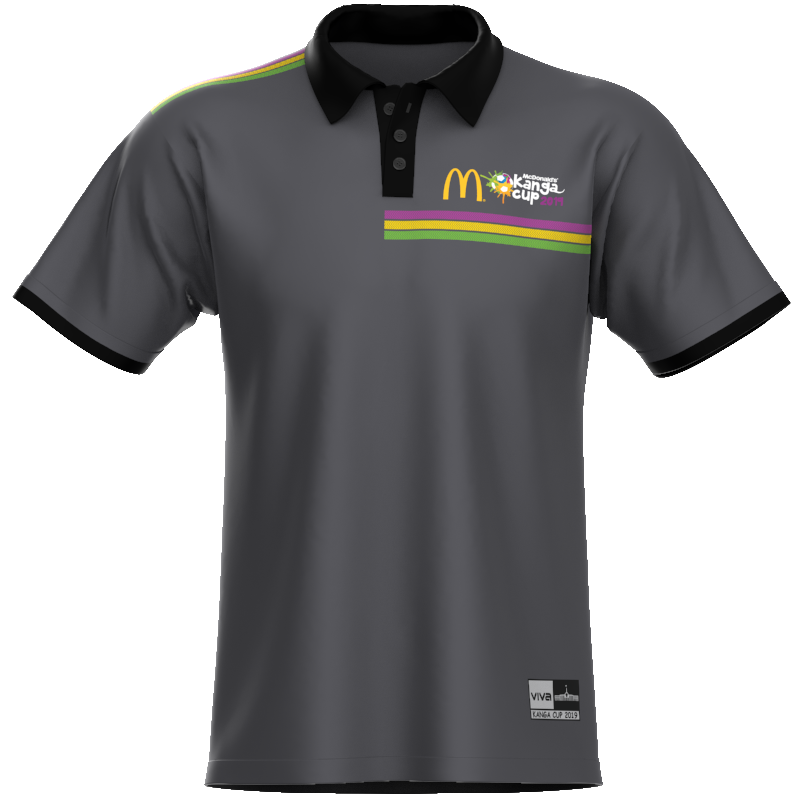 McDonald's Kanga Cup Sub Polo Grey