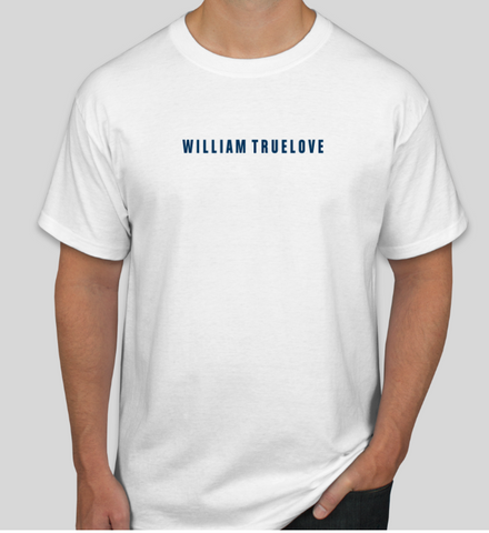 WILLIAM TRUELOVE WHITE T-SHIRT