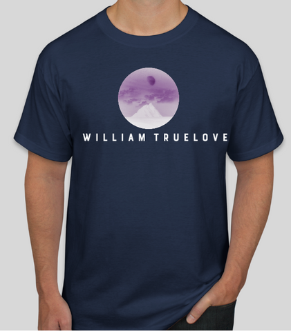 WILLIAM TRUELOVE NAVY T-SHIRT