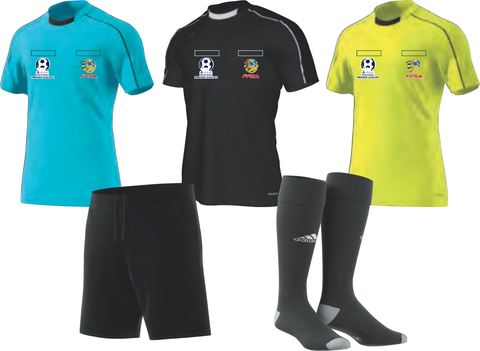 FFSA Referee Uniforms - Elite Match Official Pack