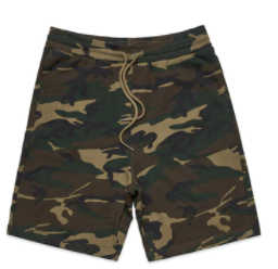 AS COLOUR CAMO SHORTS