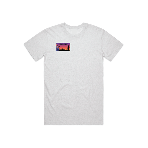 ANZAC DAY WHITE MARLE TEE