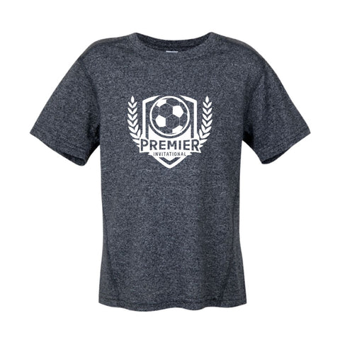 Premier Invitational Boys/Mens Dark Grey Heather T-Shirt