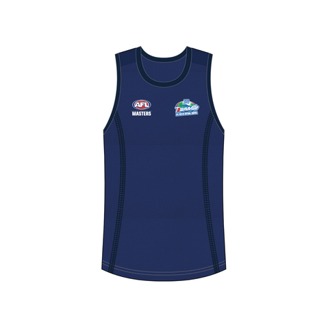 CUT AND SEW  SINGLET 1 - AFL masters Townsville 2019