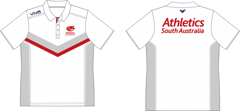 Athletics SA Pro Elite Walkout Polo Shirt