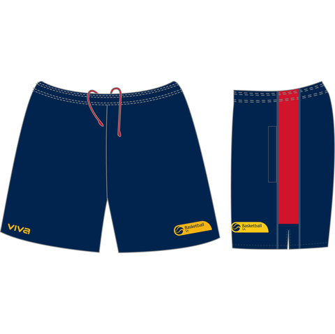 Basketball SA & SA Metro State Team Mens Casual Short