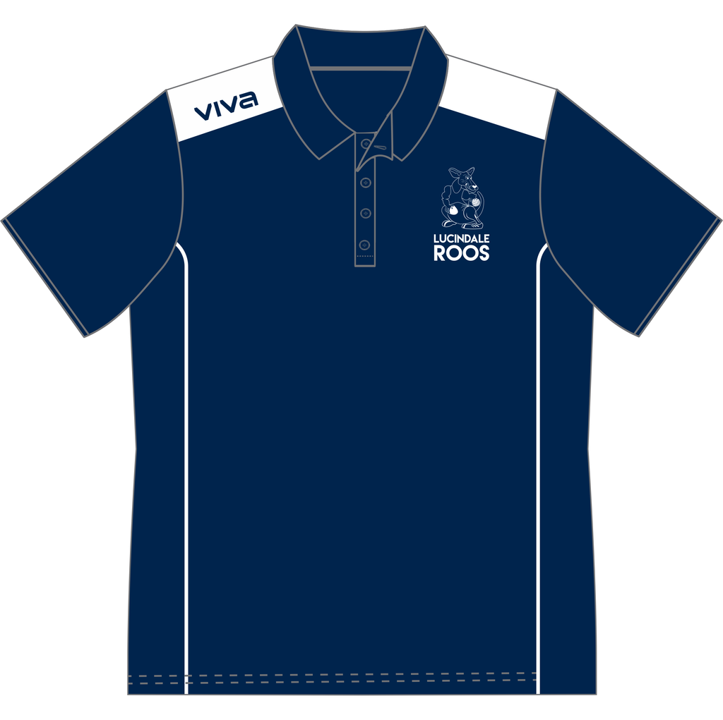 Lucindale Football/Netball Club Men's Polo Shirt