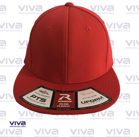 RICHARDSON SOLID RED CAP